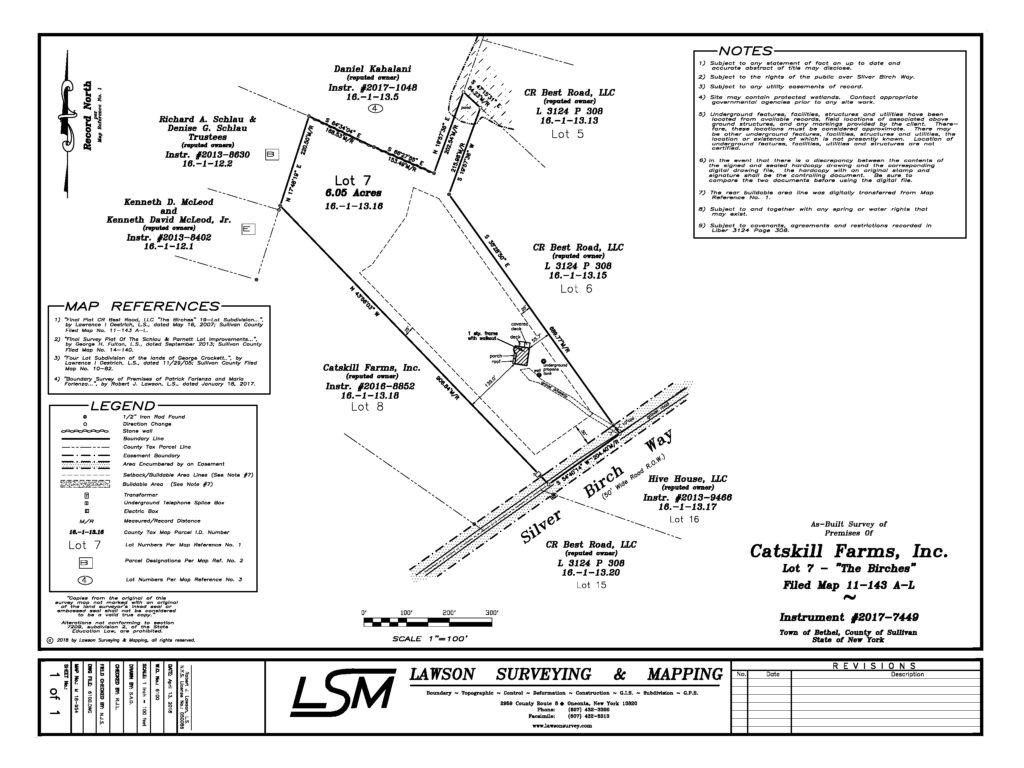 mortgage surveys  u2013 lawson surveying  u0026 mapping